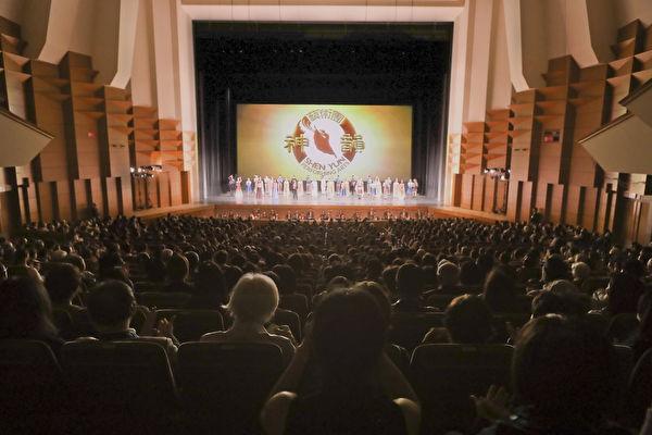 神韻東京公演は19日、全4回公演の日程を終えた。観客から「偉大な文化」と高く評価された(盧勇/大紀元)