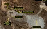 米ジョンズ・ホプキンズ大学の北朝鮮情報サイト「38ノース」は24日、同国豊渓里核実験場で新たな動きを観測したと公表した(38ノースより)