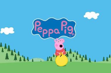 中国当局はこのほど、英アニメ「ペッパピッグ」の関連動画を動画アプリから削除した(Peppa Pigウェブサイトau.peppapig.comより)