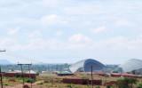 2015年末、マラウイ内にある中国人村に4万席を構えるLilongweスタジアムが完成。撮影者によると、中国資本で中国人労働者により建設された(Lars Plougmann)