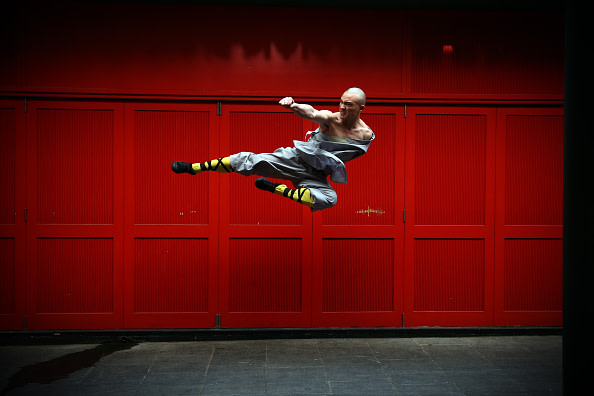 World Famous Shaolin Monks Come To London's Chinatown/GettyImages