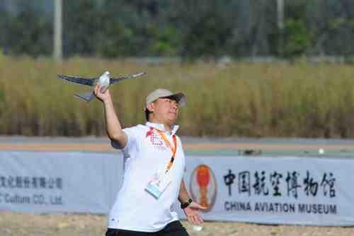 2011年にアイデア賞を受賞した鳥型ドローン「鳩」(西北工業大学)