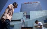 米メディアはこのほど、今年中国の公募債のデフォルトは過去最悪になる可能性があると指摘した(WANG ZHAO/AFP/Getty Images)