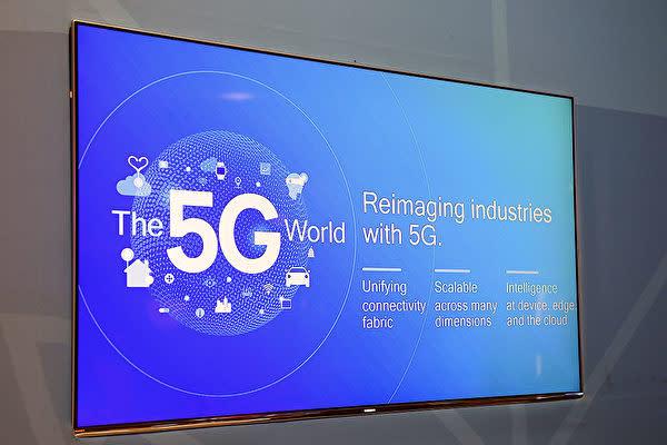 米メディアCNBCは4日、米中貿易戦の本質が5G(次世代移動通信システム)をめぐる主導権争いだとの見解を示した(Getty Images)
