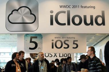 中国国営通信会社、中国電信(チャイナテレコム)は17日、米アップル社が提供するクラウドサービス「iCloud」のデータ保管業務を担うことになったと発表した(Justin Sullivan/Getty Images)