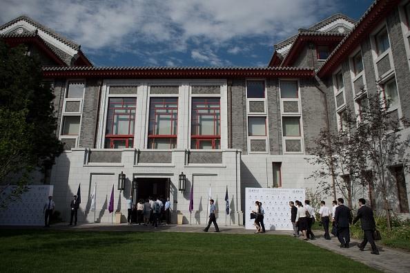 中国共産党に批判的な北京大学のクリストファー・バルディング副教授は中国を離れることになった。写真はイメージ(NICOLAS ASFOURI/AFP/Getty Images)