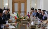 イランを訪問した北朝鮮の李容浩(リ・ヨンホ)外相は「非核化は支持するが核知識を放棄しない」と述べ、CVIDを公式拒否した(ATTA KENARE/AFP/Getty Images)