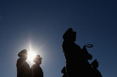 米国防総省が16日に発表した年次報告書において、中国当局が近さまざまな分野で軍事力を急速に強化していると強い警戒感を示した(Getty Images)