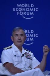 ハリー・ハリス米太平洋軍司令官(ADEK BERRY/AFP/Getty Images)