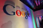 米グーグル本社ビルのロゴ。2010年撮影 (Robert Scoble/Flickr)
