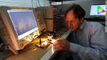 新通信技術「Li-Fi」を発明した、英国エジンバラ大学のハラルド・ハース(Harald Hass)教授(エジンバラ大学)