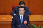 3月5日に開幕した全人代で、李克強首相は不動産等に関する政府方針を発表した(WANG ZHAO/AFP)