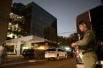 「パナマ文書」の漏洩元、パナマの法律事務所、モサック・フォンセカ (Mossack Fonseca) が入居している建物  (ED GRIMALDO/AFP/Getty Images)