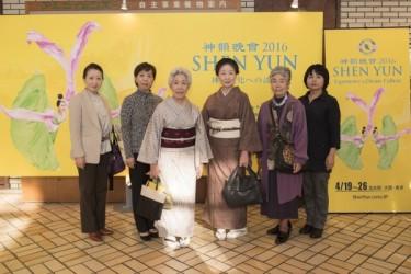 日本舞踊花柳流の花柳寿月延さんが神韻を鑑賞するのは今回が2度目(野上浩史/大紀元)