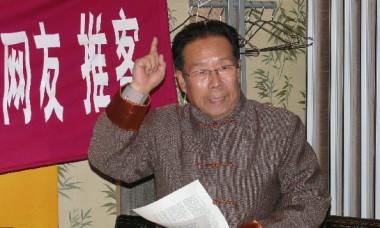 中国向け短波放送ラジオ局「希望の声」に内部情報を提供した中国軍の元高官、辛子陵氏(ネット写真)