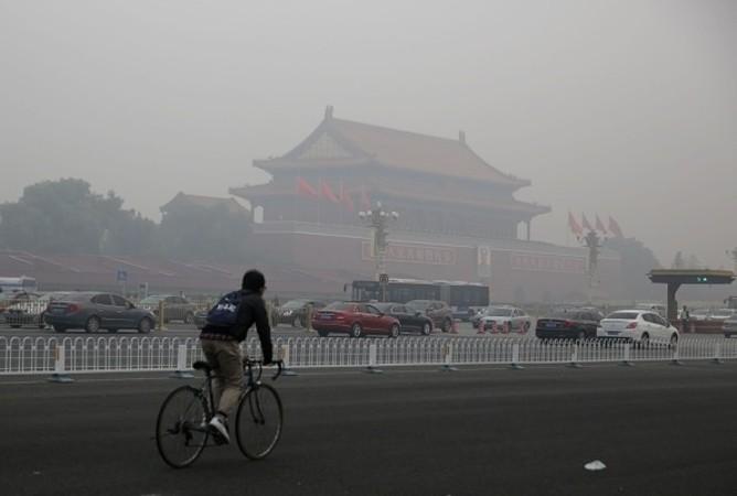 目には見えない汚染物質オゾンが、PM2.5に代わって北京を始めとする中国の大都市の主な汚染物質となっている。(Getty Images)