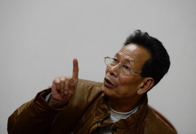 当局に拘束されている林祖恋氏(MARK RALSTON/AFP/Getty Images)