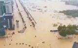 水没した武漢市(ネット写真)