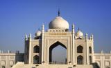 寧夏回族自治区の銀川にある、イスラム教の要素を取り入れたテーマパーク「中華回郷文化園」(ネット写真)