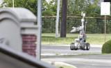 ダラス警察当局が使用しているロボット。2015年6月13日撮影(Stewart F.House/Getty Images)