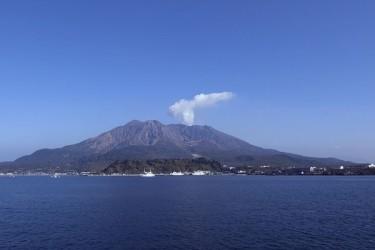 30年の内に大規模噴火があるとの研究結果が発表された桜島(wiki commons)