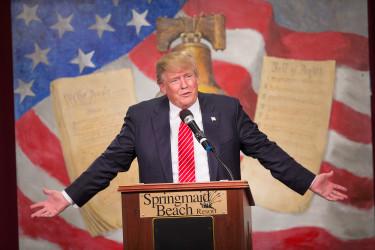 ドナルド・トランプ氏が第45代米国大統領となることが確実になった( Scott Olson/Getty Images)