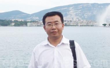 中国の人権派弁護士、江天勇(写真)氏の行方が分からなくなっている。(大紀元資料)