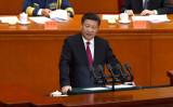 中国の習近平国家主席は21日に開催された、経済政策策定会合である「中国共産党中央財経領導小組会議」において、来年中国の国内総生産(GDP)成長率目標に関して、目標成長率である「6.5%」を下回ってもよいとの認識を示した (WANG ZHAO/AFP/Getty Images)