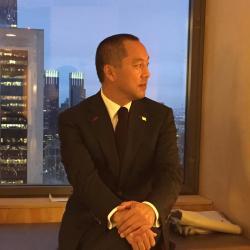 中国人富豪で現在、米国に在住の郭文貴氏(自身のTwitterのプロフィール写真)