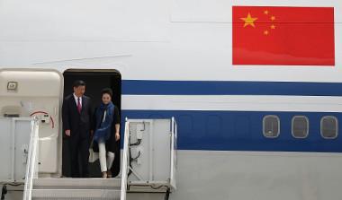 今回の米中首脳会談は開催1週間前に、両国当局がようやく正式に発表した。慌ただしい印象の今回の米中首脳会談。中国習近平国家主席は何を求めているのだろうか? (Photo by Joe Raedle/Getty Images)