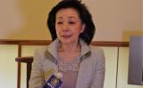 4月、東京都内で大紀元と新唐人の合同インタビューに応じる櫻井よしこ氏(張本真/大紀元)