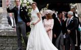 ウィリアム英王子の妻キャサリン妃の妹、ピッパ・ミドルトンさん(33)の結婚式が行われた。新郎は投資顧問会社経営ジェームズ・マシューズさん。(Kirsty Wigglesworth/Pool/Getty Images)