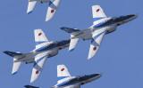 今年、国宝・彦根城は築城410年を迎えた。これを記念して、6月4日に滋賀県金亀公園一帯で野外イベント「彦根眺城フェス」が開催される。プログラムには空自衛隊のブルーインパルス展示飛行も盛り込まれる。(彦根市)