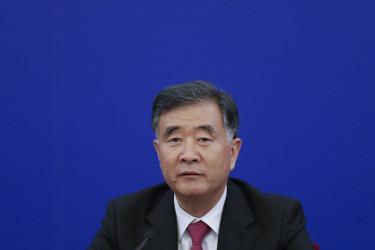 副総理・汪洋氏は比較的民望の高い人物の一人とされる(Lintao Zhang/Getty Images)
