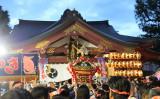 東京・素戔嗚神社で6月3日、4日に天王祭が執り行われた(佐渡道世/大紀元)
