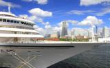 横浜港客船フォトコンテスト2016特選「大桟橋からの景観」(横浜市)