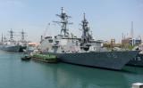 7月10日、インド洋で日米印の合同軍事演習始まる(ARUN SANKAR/AFP/Getty Images)