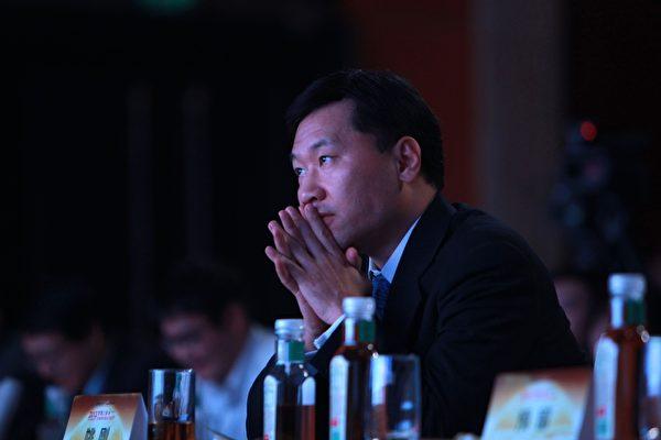株の空売りに関与したとされる証監会前主席姚剛氏。(大紀元)