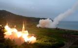 中国が北朝鮮問題を解決する鍵を握っているという見方もあるが、一部の中国問題専門家はそれを否定した。写真は7月28日に発射された北朝鮮の大陸間弾道ミサイル。Photo by South Korean Defense Ministry via Getty Images)