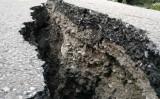 8日、四川省九寨溝でM7.0の地震が発生した。(Photo credit should read STR/AFP/Getty Images)