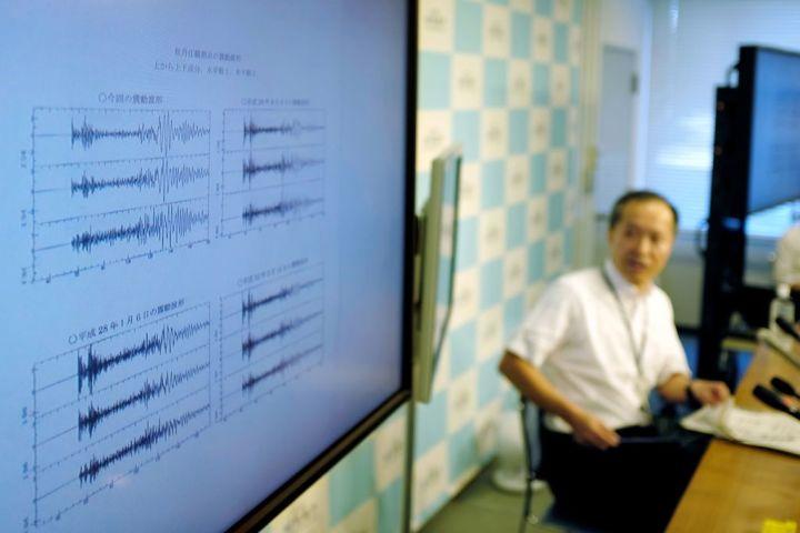 9月3日、気象庁は同日12時半ごろ、北朝鮮が核実験場を置く位置で自然発生ではない地震が起きたと発表(KAZUHIRO NOGI/AFP/Getty Images)