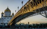 ロシアの首都モスクワ(MLADEN ANTONOV/AFP/Getty Images)