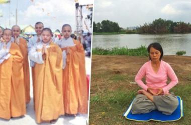 仏門に出家し、尼僧として修行していたグエンさん。ガンに侵された時、別の修煉法に出会う(NTD Inspired)