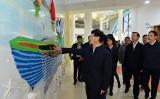 昨年11月末、孟建柱・前中央政法委員会書記が紅黄藍海南国際幼稚園を視察(RYBエデュケーションのウェブサイトより)