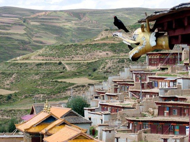 カンゼ・チベット族自治州北西部(wikimedia)