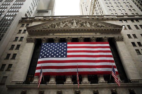 写真は米ニューヨーク証券取引所(Spencer Platt/Getty Images)