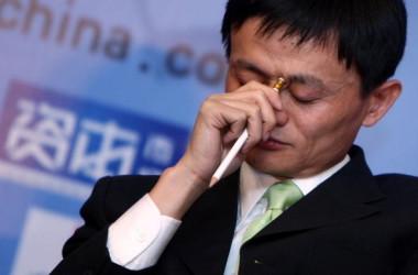 中国電子商取引最大手のアリババ集団創業者である馬雲氏はこのほど、国内民間企業の経営環境がますます厳しくなっていると発言した(China Photos/Getty Images)