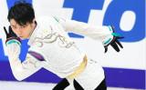 66年ぶりの五輪金メダル2連覇に期待がかかる羽生選手(東京ニュース通信社)