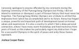 ジャーナリストで実業家のジョシュア・クーパー・ラモ氏は自身のSNSで、五輪開幕式での発言を謝罪した(スクリーンショット)