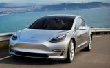 米電動自動車メーカーテスラの新型EVセダン「モデル3」(Tesla Motorsより)